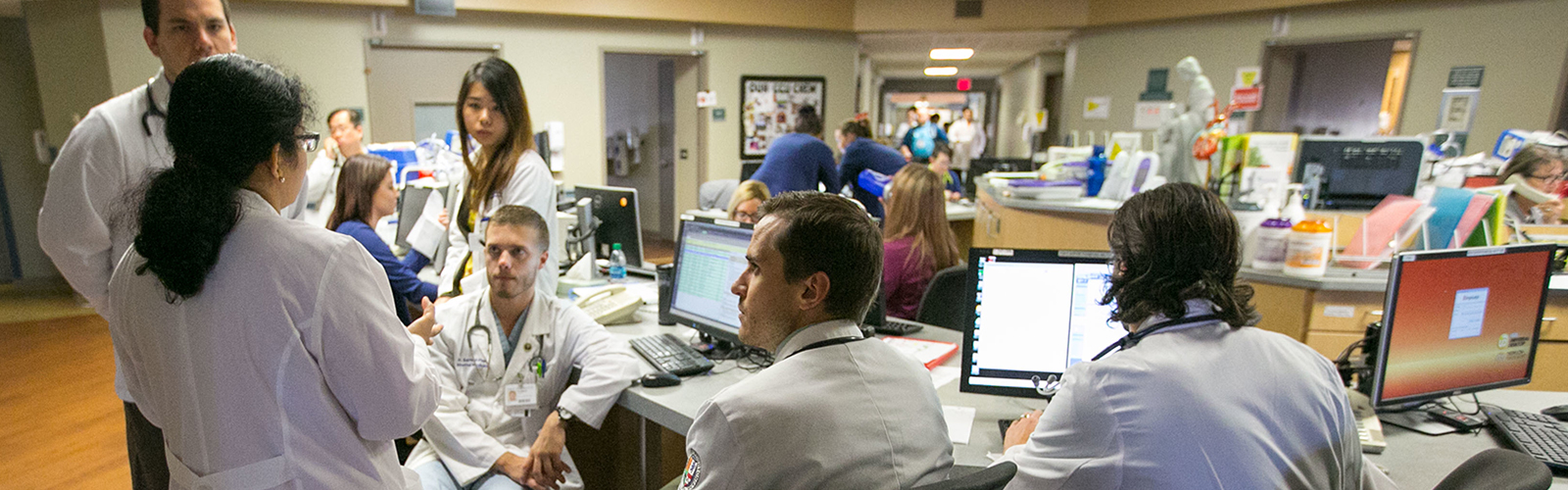 Residents and fellows at Creighton University School of Medicine