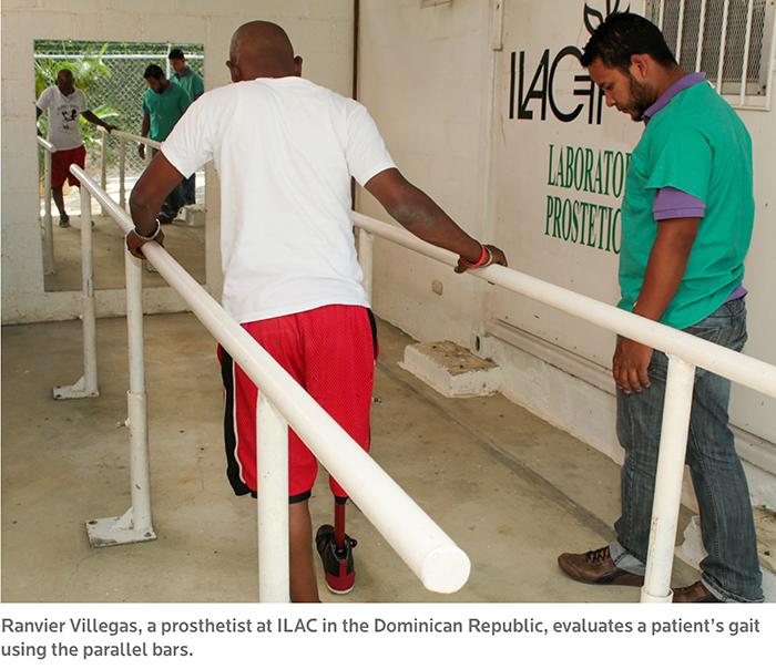 Haiti amputees