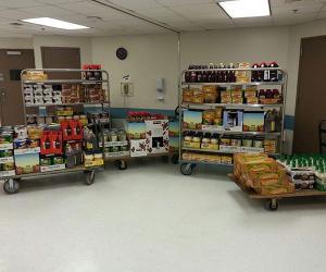 CUMC Food Drive Collection