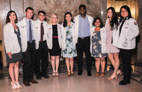 Medical Students Welcomed with White Coat Ceremony | School of