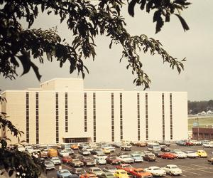 Criss Building in 1970s or 1980s