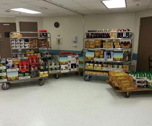 CUMC Food Drive Collection