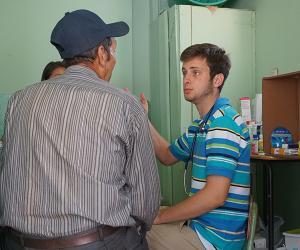student in dominican republic